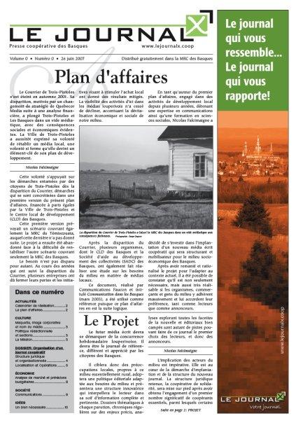 Ce texte était l'éditorial figurant dans la maquette et plan d'affaires de la Coopérative de solidarité d'information des Basques, un document produit à très peu d'exemplaires en juin 2007.